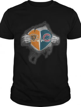 Bears Cubs Its in my heart inside me shirt
