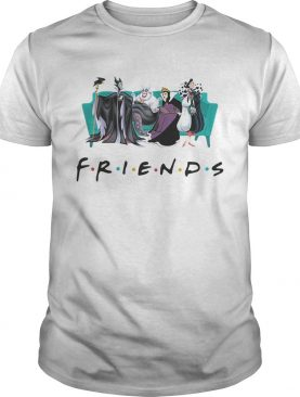 Disney Queens friends Cruella De Vil evil Queen Ursula maleficen shirt