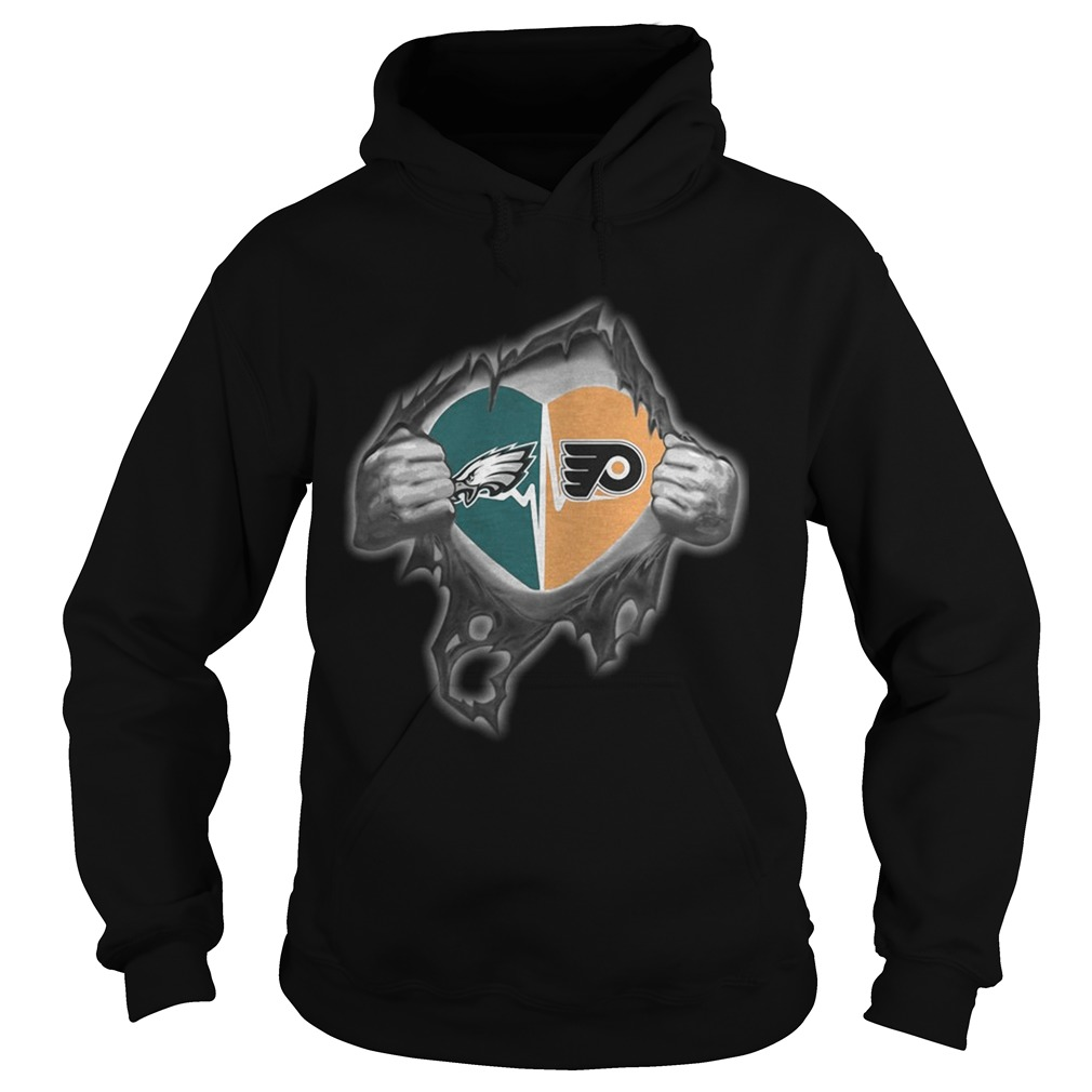 Eagles Flyers Its in my heart inside me Hoodie