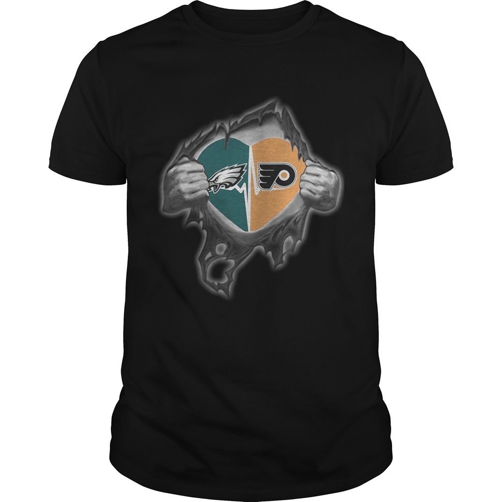 Eagles Flyers Its in my heart inside me Unisex