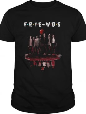 F.R.I.E.N.D.S Poster IT Chapter Two upside down shirt