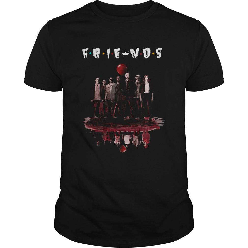 FRIENDS Poster IT Chapter Two upside down Unisex
