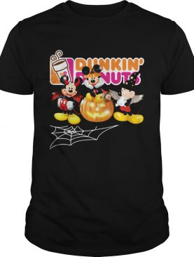 Mickey Mouse Dunkin Donuts Halloween t-shirt