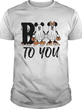 Mickey Mouse boo to you shirt