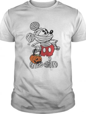 Mickey Mouse mummy Halloween shirt