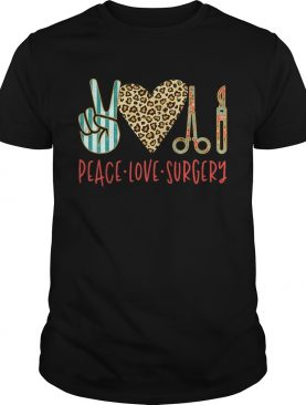 Peace love hair styling shirt