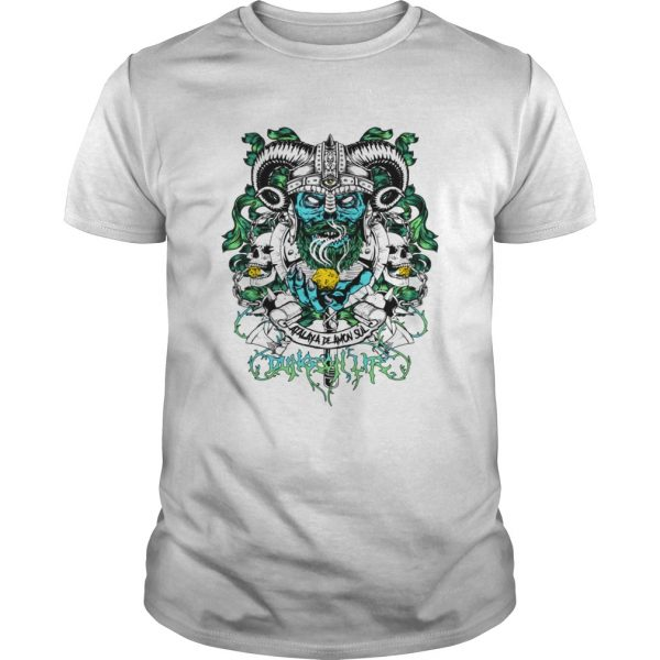 Skull warrior – dungeon life t-shirt