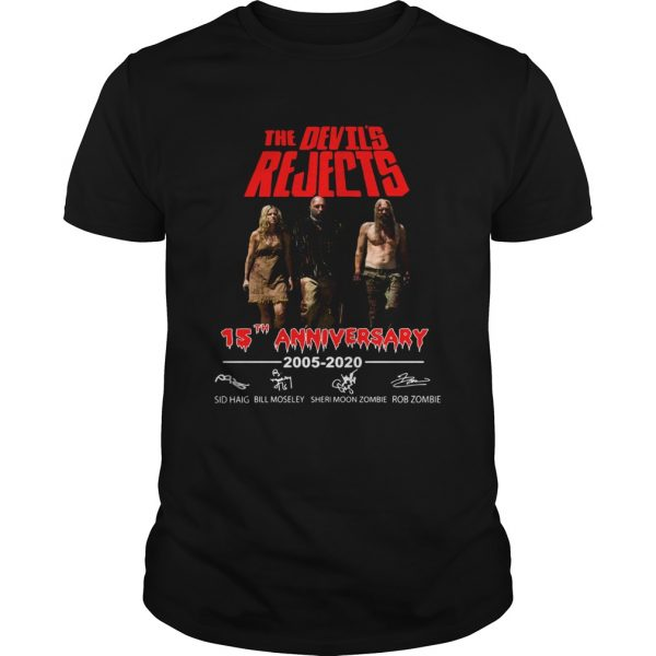The Devils Rejects 15th anniversary shirt