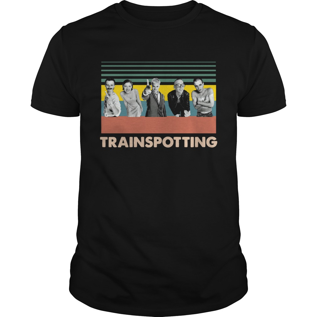 Trainspotting vintage Unisex