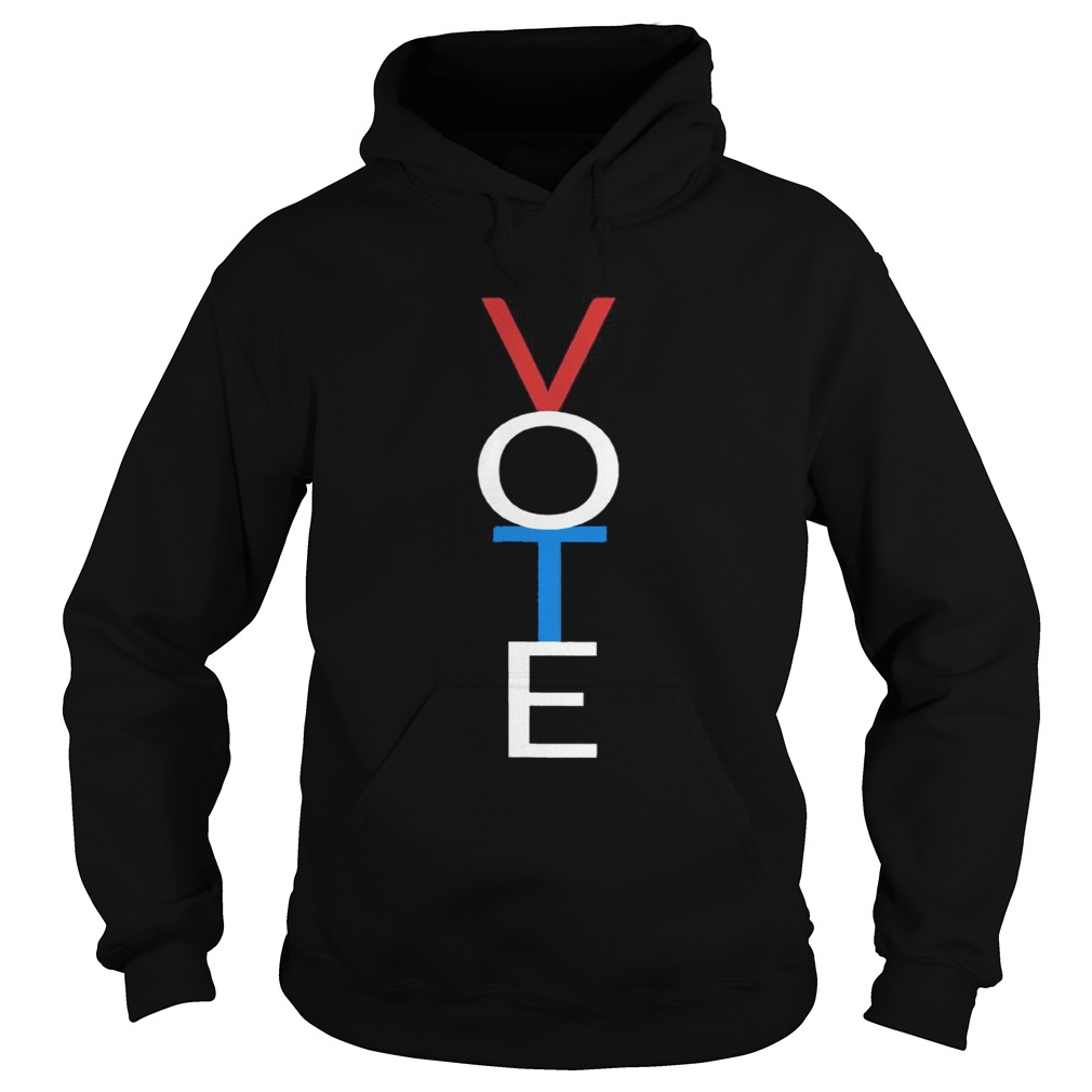 Vote Red White Blue Shirt Hoodie