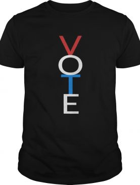 Vote Red White Blue Shirt