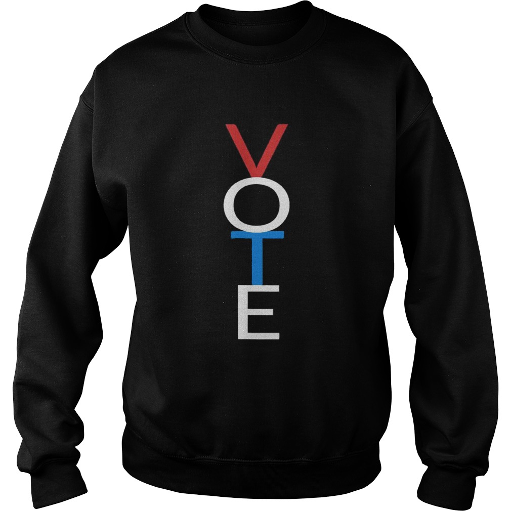 Vote Red White Blue Shirt Sweatshirt