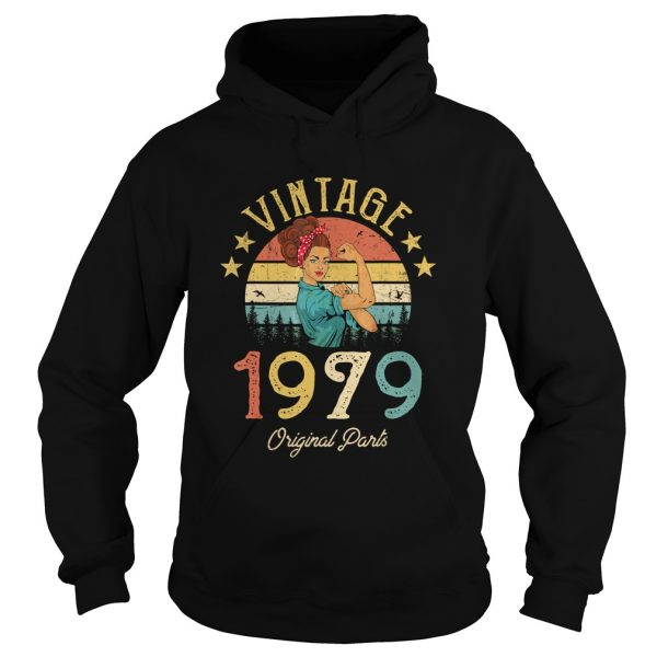 1568295305Vintage 1979 Made in 1979 40th Birthday 40 years old Gift T-Shirt Hoodie