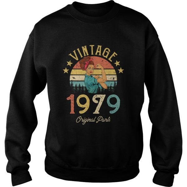 1568295305Vintage 1979 Made in 1979 40th Birthday 40 years old Gift T-Shirt Sweatshirt