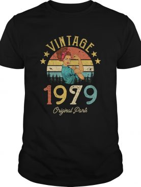 Vintage 1979 Made in 1979 40th Birthday 40 years old Gift T-Shirt