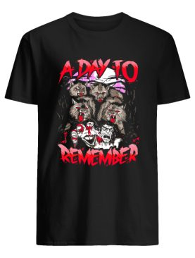 A Day To Remember Tour Dates 2019 shirt