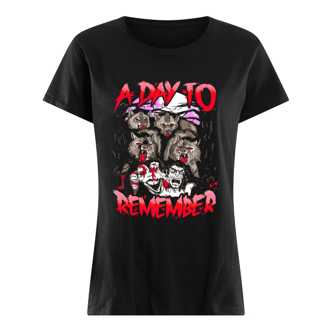 A Day To Remember Tour Dates 2019 Classic Women's T-shirt