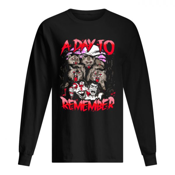 A Day To Remember Tour Dates 2019  Long Sleeved T-shirt