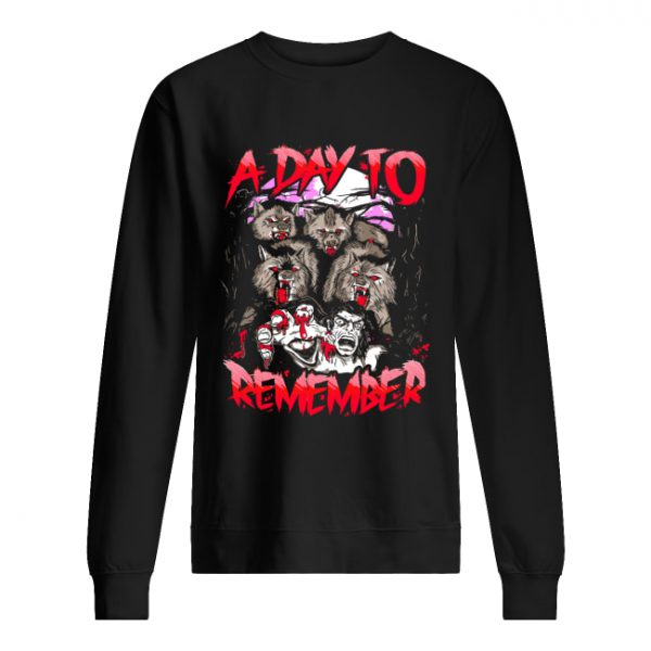 A Day To Remember Tour Dates 2019  Unisex Sweatshirt