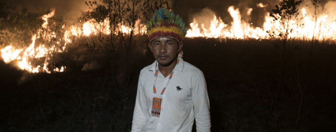 As the Amazon fires rage members of this indigenous community brace for their world to change
