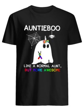 Auntieboo Like a normal aunt, but more awesome shirt
