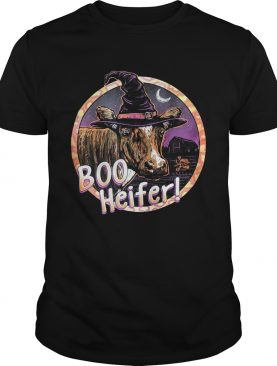 Boo heifer witch Halloween shirt