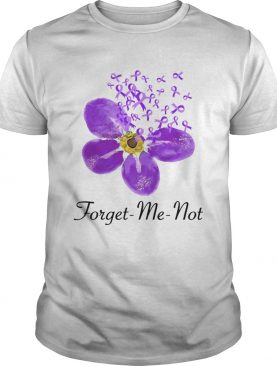 Breast Cancer Awareness Forget me not shirt