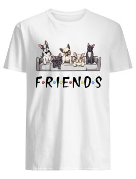 Bulldogs friends tv show shirt