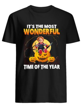 Chucky It's the most wonderful time of the year shirt