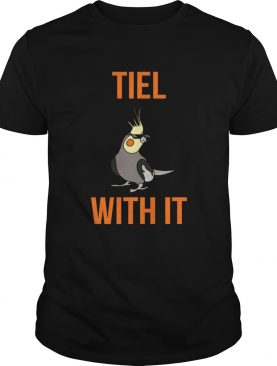 Cockatiel Bird Thug Life Tiel With It shirt
