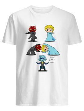 Darth Maul Fusions Elsa Night King shirt