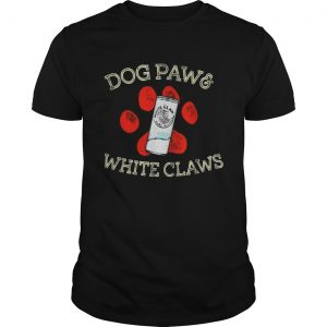 Dog paws and White Claws  Unisex