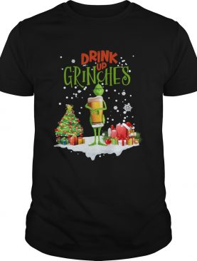 Drink Up Grinches Christmas shirt