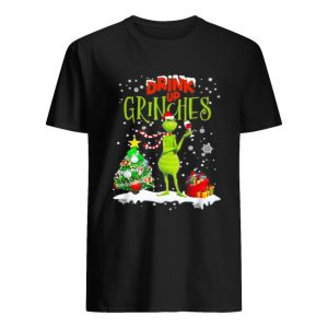 Drink up Grinches Christmas Wine  Classic Men's T-shirt
