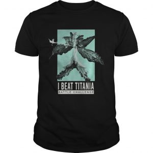 Final Fantasy 14 I Beat Titania Battle Challenge Shirt Unisex