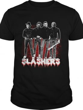 Freddy Krueger Leatherface Michael Myers Jason Voorhees Slashers shirt