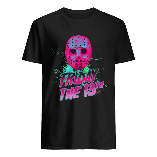 Friday 13th Halloween Horror Mask Classic Men's T-shirt