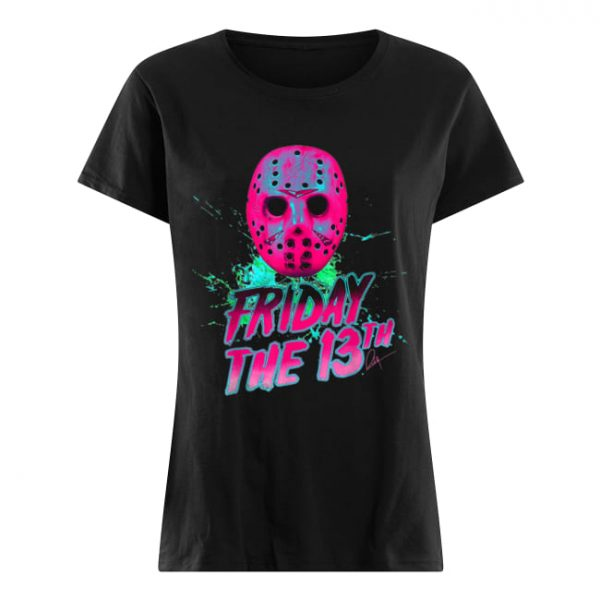 Friday 13th Halloween Horror Mask  Classic Women's T-shirt