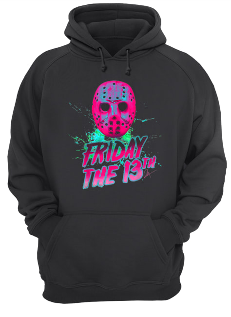 Friday 13th Halloween Horror Mask  Unisex Hoodie