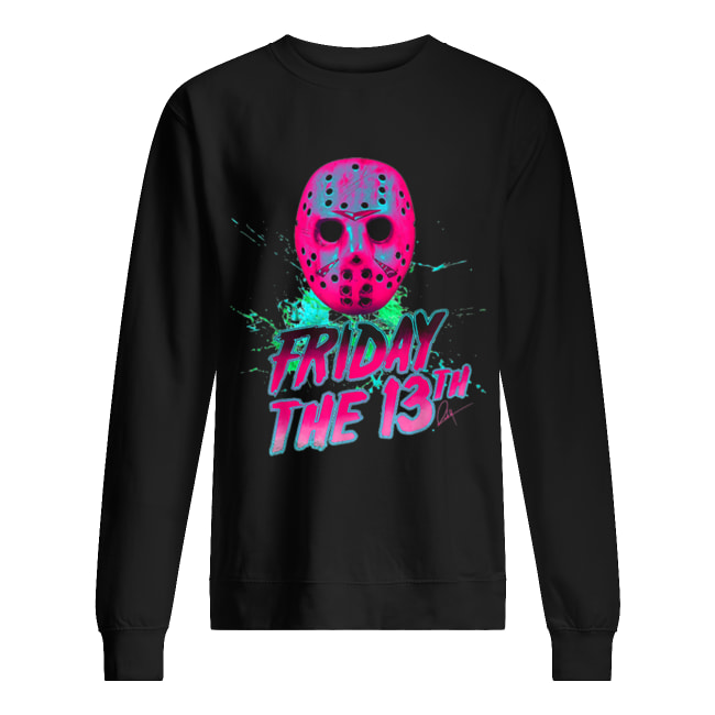 Friday 13th Halloween Horror Mask Unisex Sweatshirt