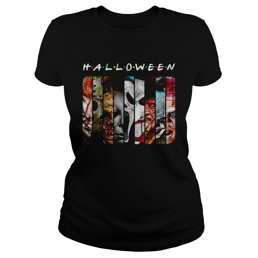 Friends TV Show horror characters movies Halloween Classic Ladies