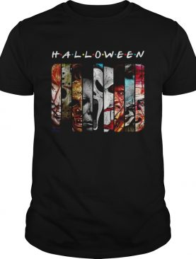Friends TV Show horror characters movies Halloween shirt