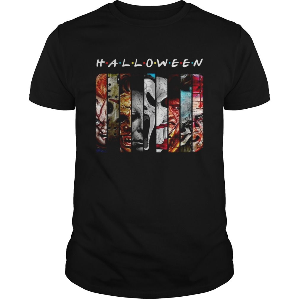 Friends TV Show horror characters movies Halloween Unisex