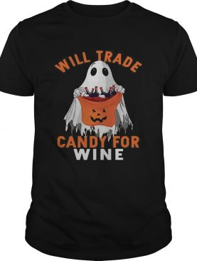 Ghost will trade candy for shirt