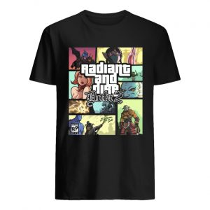 Grand Theft Radiant and Dire Dota 2  Classic Men's T-shirt