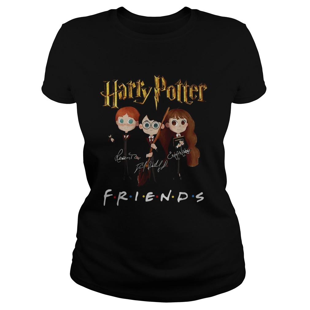 Harry Potter Friends TV Show signatures Classic Ladies