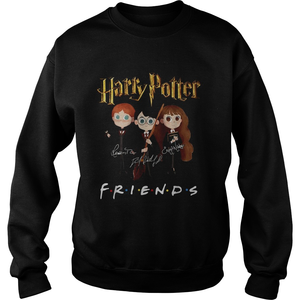 Harry Potter Friends TV Show signatures Sweatshirt