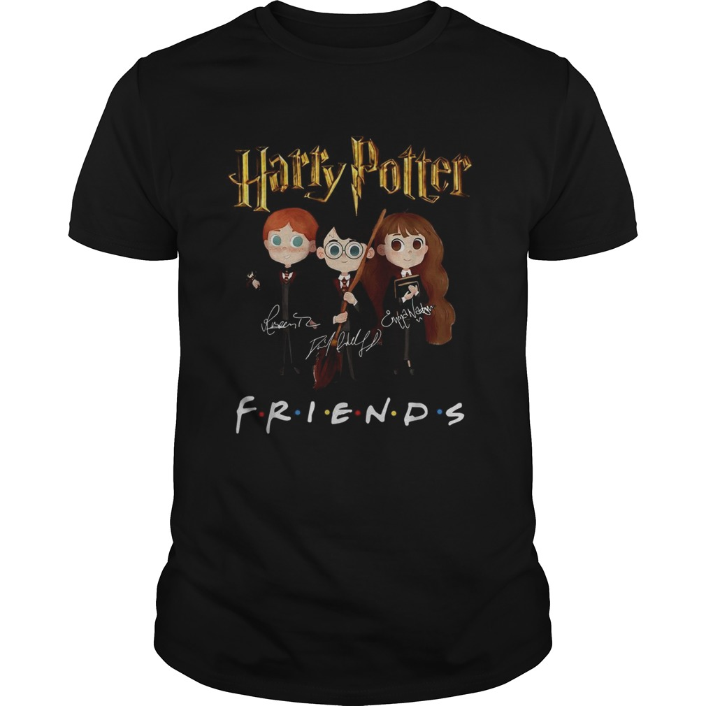 Harry Potter Friends TV Show signatures Unisex