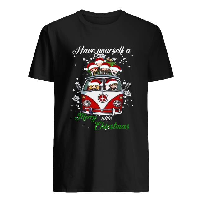 Harry Potter Have yourself a Merry little Christmas Classic Men's T-shirt