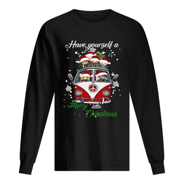 Harry Potter Have yourself a Merry little Christmas  Long Sleeved T-shirt